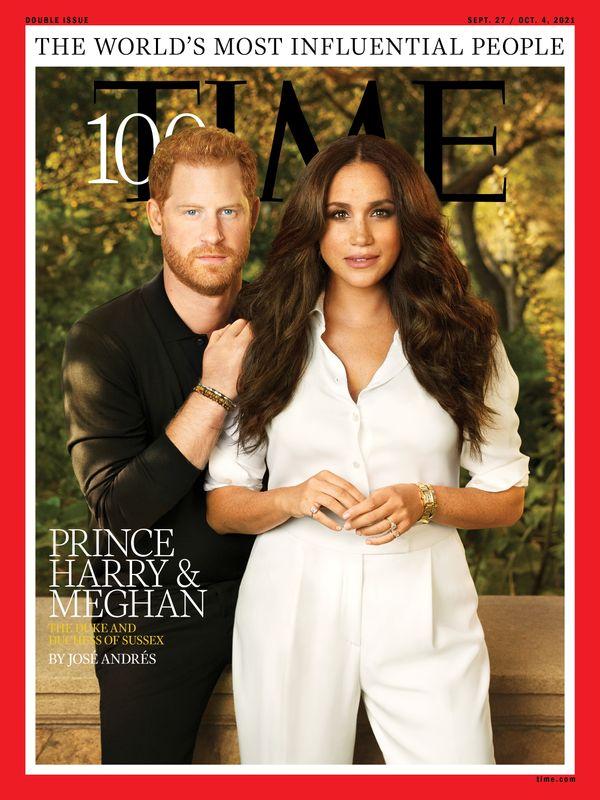 Harry e Meghan entram na lista de 100 influenciadores da Time