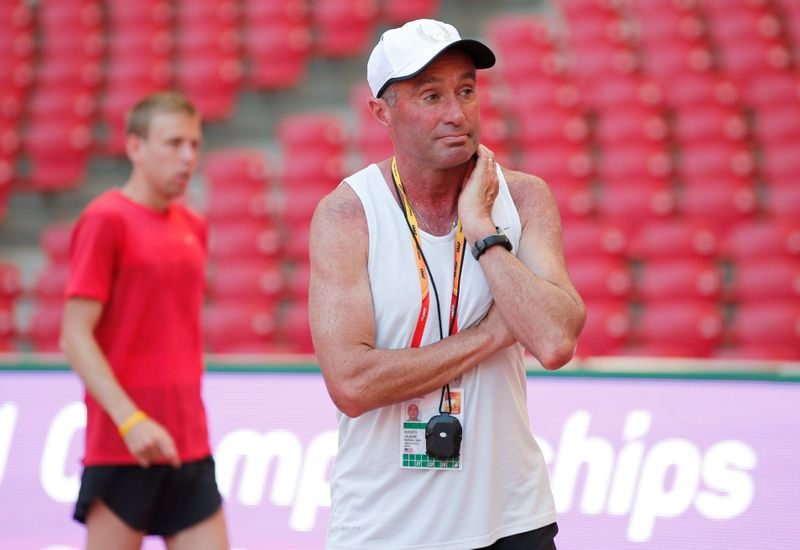 Athletics-Salazar's four-year ban upheld by CAS