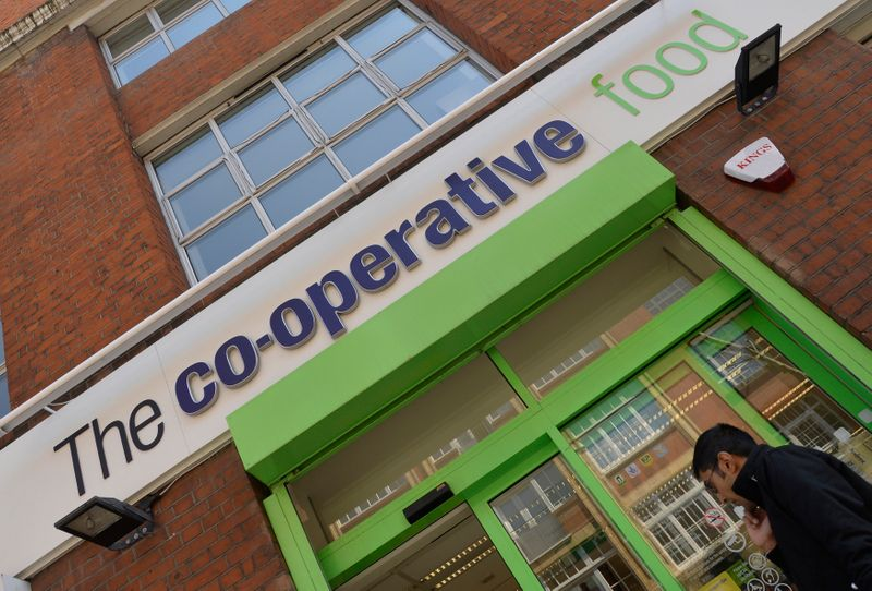 Britain's Co-op warns supply chain disruption to hit full year profit