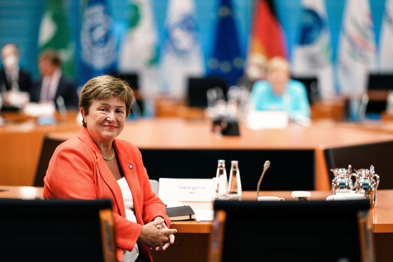IMF chief Georgieva to speak at U.S.-led global COVID-19 summit on Sept. 22