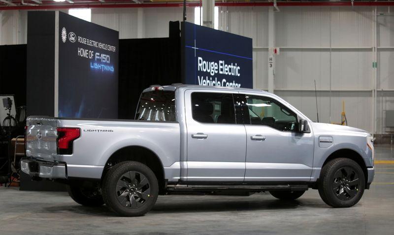 米フォード、電動ピックアップトラックの生産能力増強 年8万台
