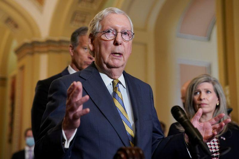米上院共和党トップ、財務長官に債務上限引き上げで非協力を伝達