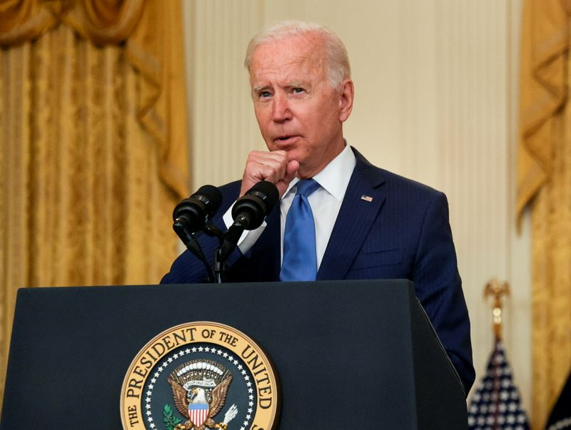 Biden says Republican governors are undermining COVID safety response