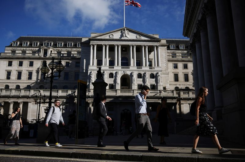 Slower growth, high inflation make awkward reading for Bank of England