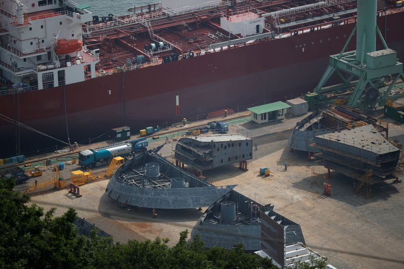 Hyundai Heavy Industries shares jump above IPO price on debut