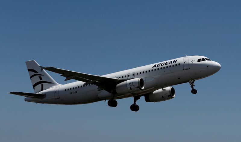 Aegean Airlines shrinks loss in second quarter, sales jump