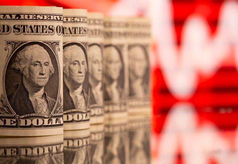 Доллар у пика 3 недель после данных о рознице в США