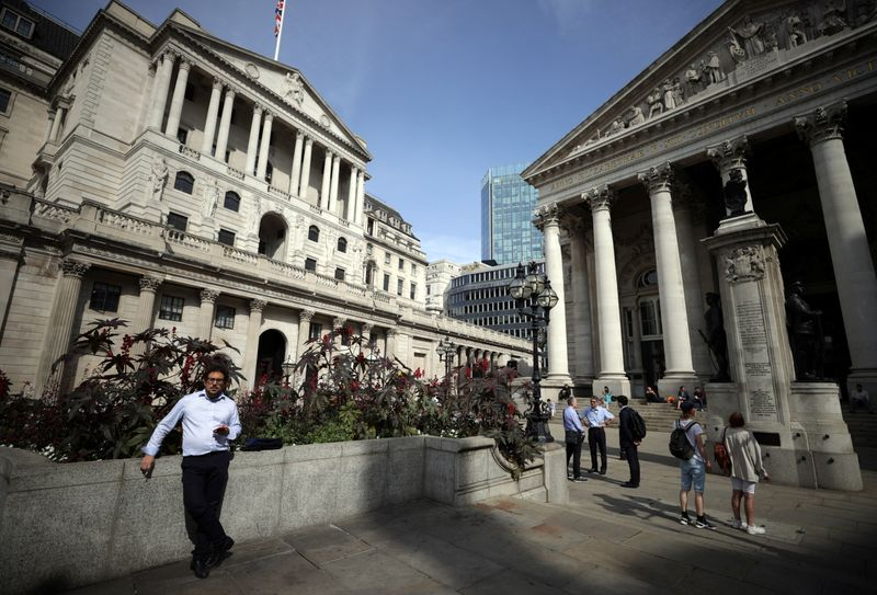 UK public inflation expectations tick higher in August: BoE survey