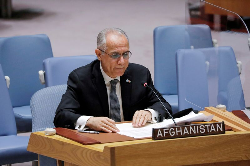 U.N. Afghanistan mission extended, Afghan envoy asks to keep seat