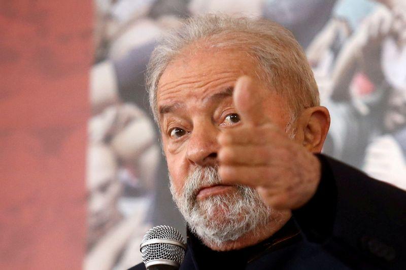Lula retains solid lead over Bolsonaro for 2022 Brazil race, poll shows