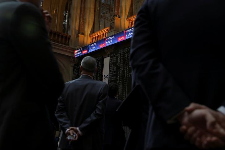 Wall Street y la china Evergrande frenan a una bolsa española pendiente de la Fed