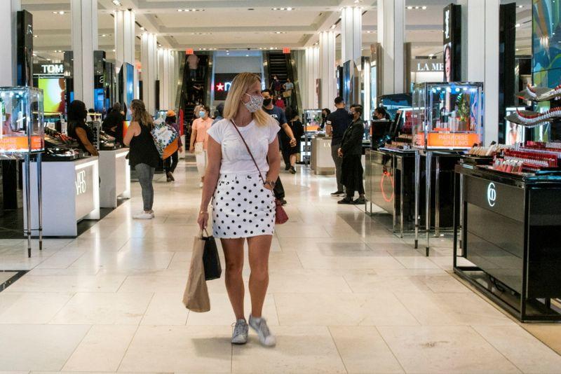 米ミシガン大消費者信頼感、9月は小幅上昇 予想は下回る