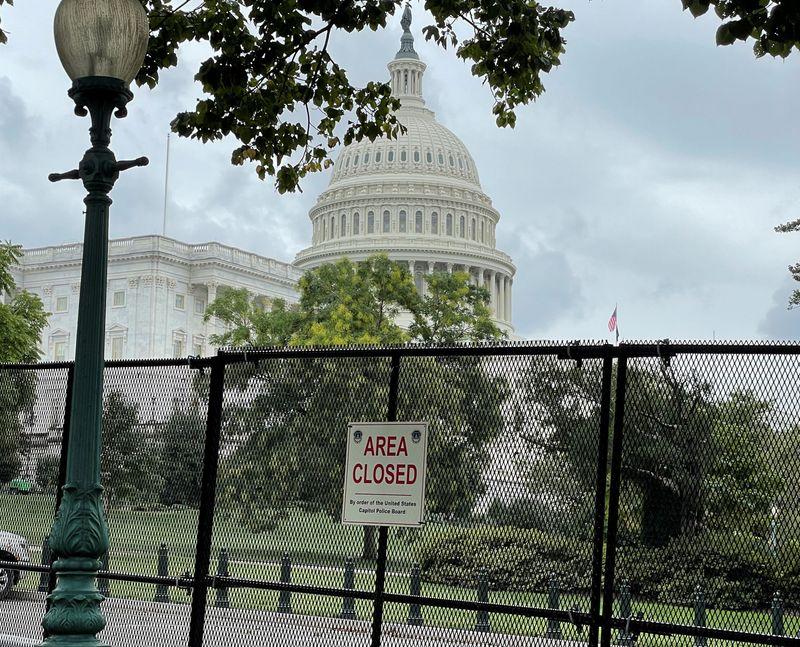 Sécurité Renforcée À Washington Avant Une Manifestation Pro-Trump