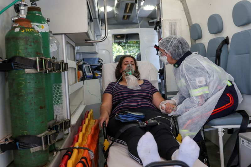Brazil reports over 150,000 COVID-19 cases in one day amid Rio backlog