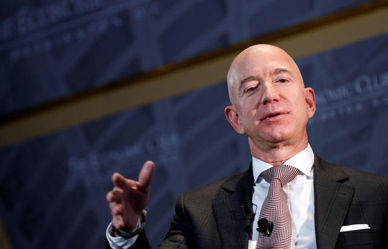 UK PM Johnson to challenge Amazon founder Bezos over company's tax record- FT