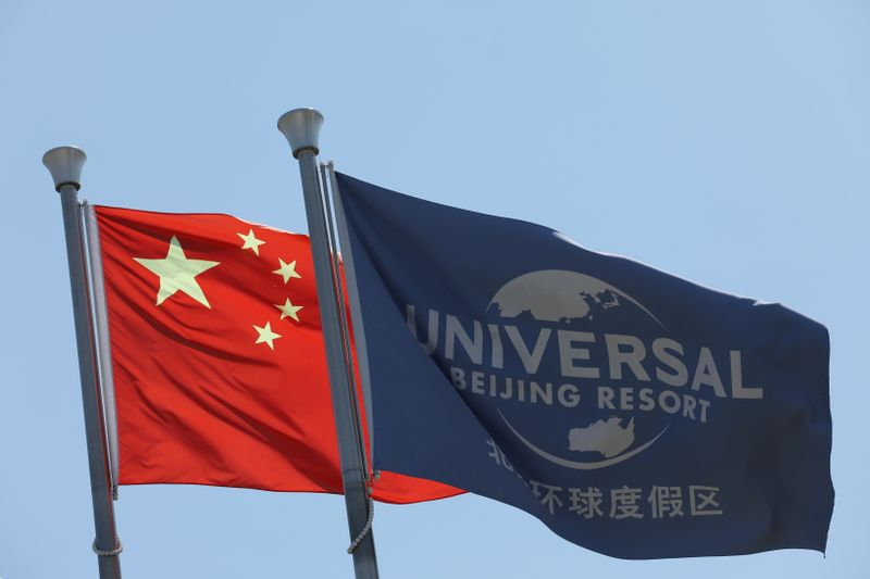 Universal Studios Beijing draws eager throngs amid uneasy U.S.-China ties