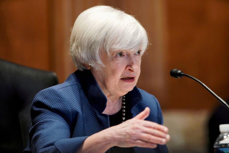 米国債デフォルト、国家を「恒久的」に弱める イエレン氏が警告