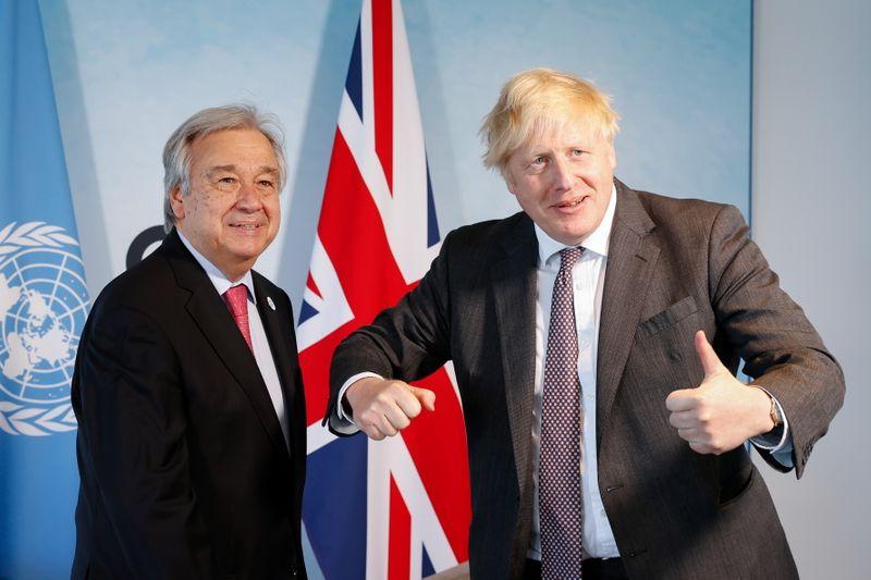 Jefe ONU y primer ministro británico instan a países a que hagan más para proteger el medio ambiente