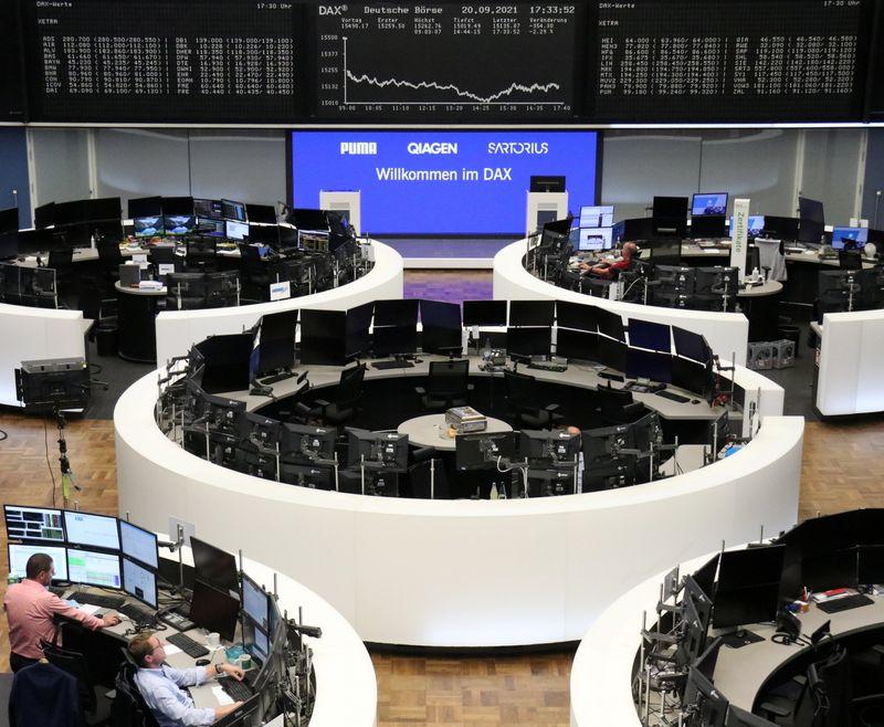 الأسهم الأوروبية تغلق على انخفاض حاد متأثرة بمخاوف بشأن مشاكل ايفرجراند الصينية
