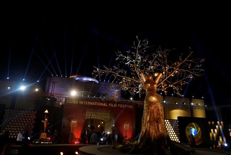 جائزة التميز من مهرجان القاهرة السينمائي للممثل كريم عبد العزيز