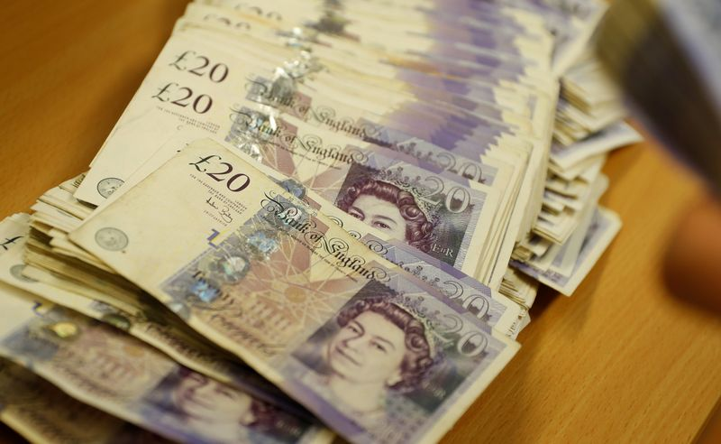 الاسترليني عند أدنى مستوى في شهر أمام الدولار وسط شكوك بشأن السياسة النقدية لبنك انجلترا