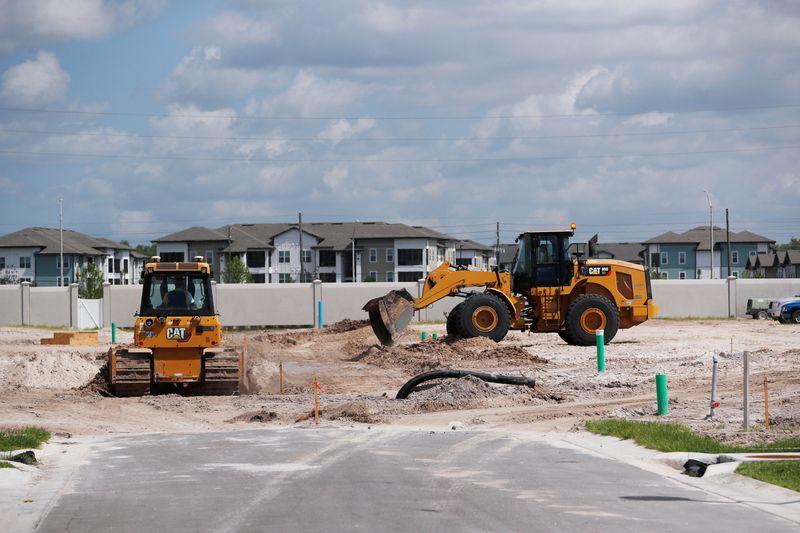 米住宅建設業者指数、9月は4カ月ぶり上昇