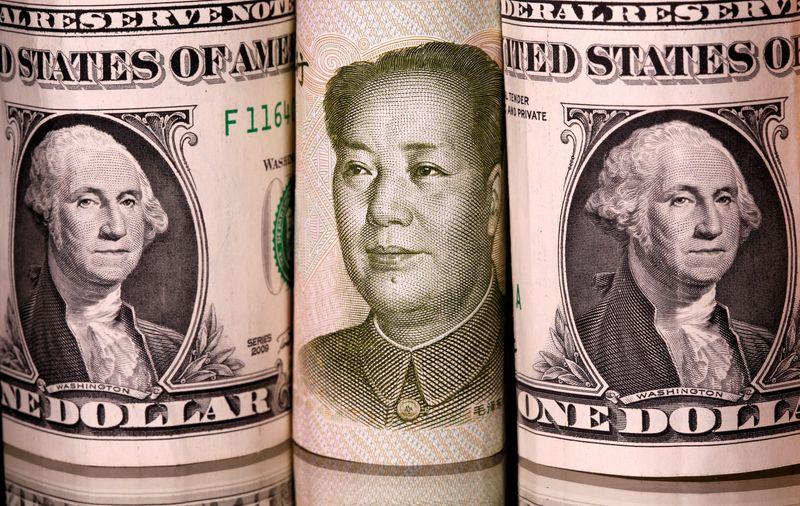 NY外為市場=人民元下落、中国恒大巡る懸念でドルに安全買い