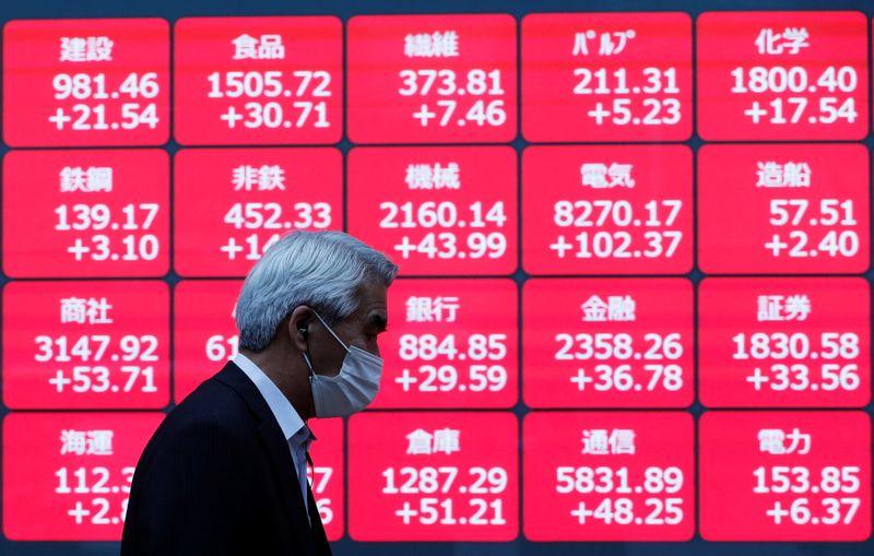 المؤشر نيكي ينخفض 1.57% في بداية التعاملات ببورصة طوكيو