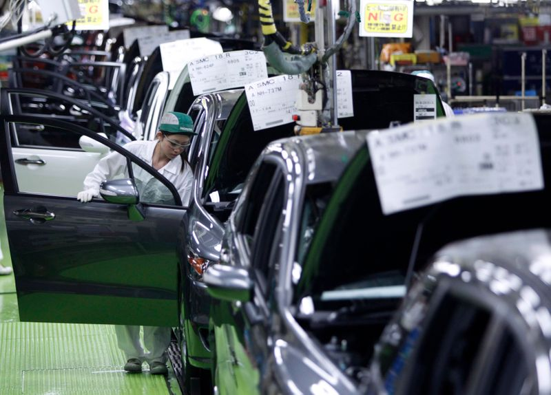 Honda says domestic output at 40% of capacity in Aug-Sept, 70% in early Oct
