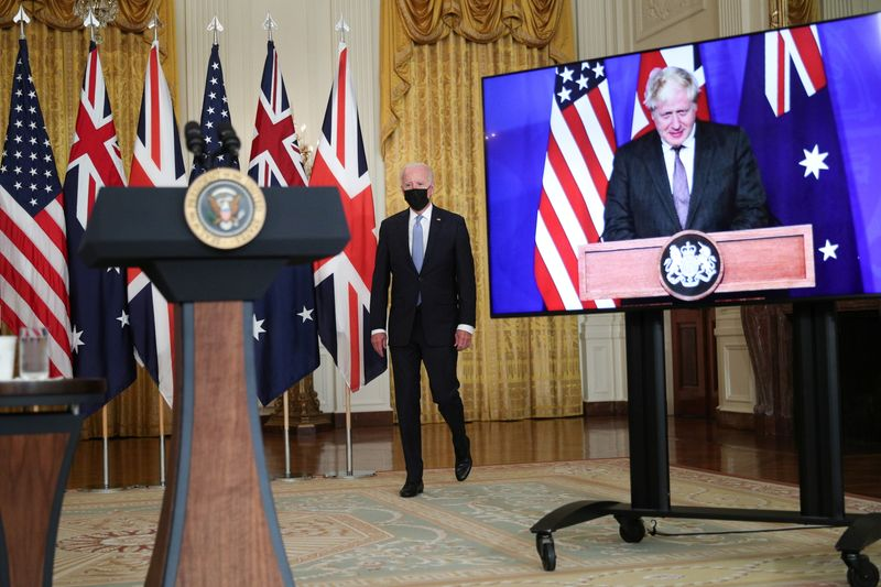 Power player or poodle? UK-U.S. relations in flux as BoJo meets Joe By Reuters
