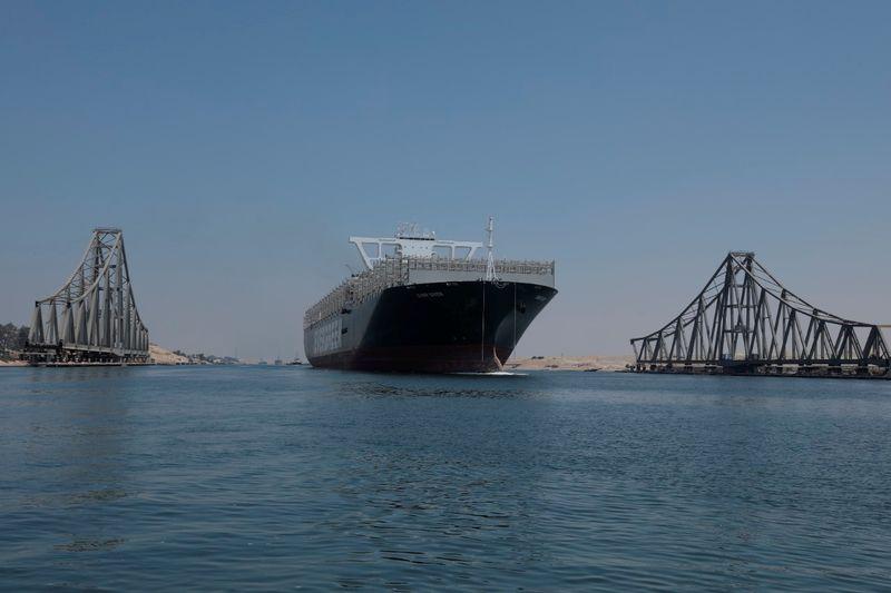 Egypt's Suez Canal revenue at $4.09 billion in 8 months -statement