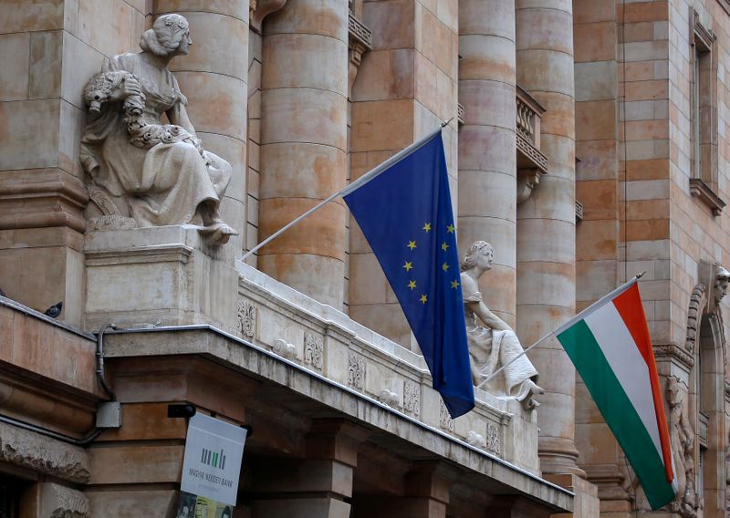 Hungarian cenbank slows pace of tightening, plans more hikes to curb inflation