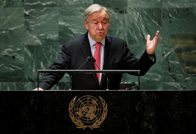 UN chief assesses world about vaccine roll-out: 'F in Ethics'