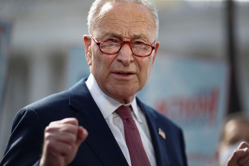 U.S. Senate's Schumer mulls passing election reform without Republicans