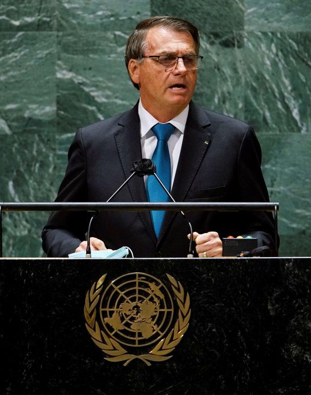 ANÁLISE-Discurso de Bolsonaro na ONU esquece política externa e mira eleitores fiéis