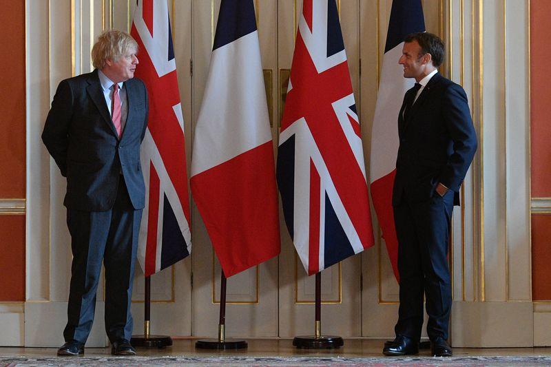 Get a grip, British PM Johnson tells France after submarine row