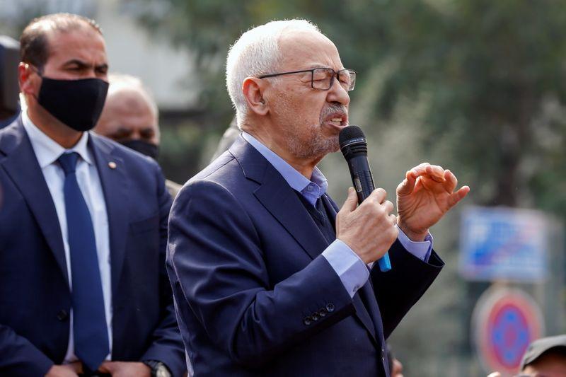 حزب النهضة التونسي يرفض خطوة الرئيس سعيد ويعتبرها إلغاء للدستور