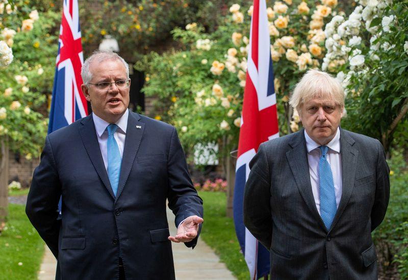 Cricket-British PM Johnson asks Australia to help resolve Ashes stand-off