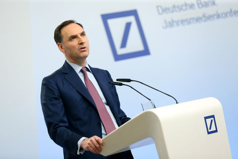 All Deutsche Bank businesses performing at or ahead of plan - CFO