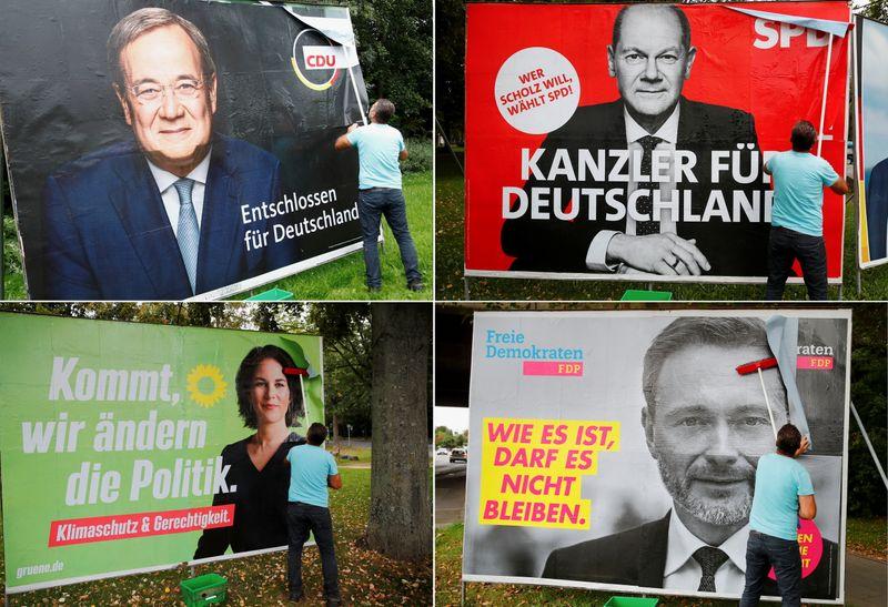SPD's Scholz offers steel sector help as German election race tightens