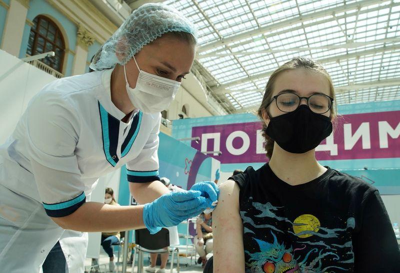 Rússia volta a registrar recorde de mortes por Covid-19