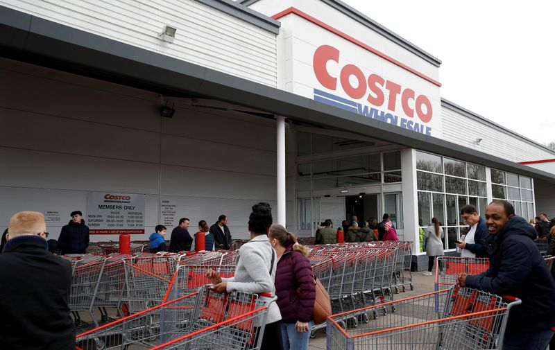 Costco limits roll towel, bottled water purchases again as COVID-19 cases surge