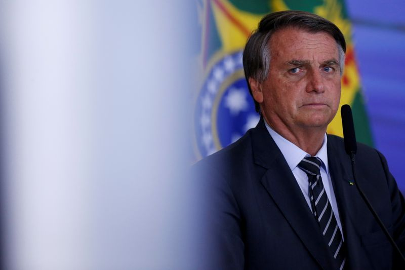 UK disputes claim by Brazil's Bolsonaro that Johnson sought emergency food deal