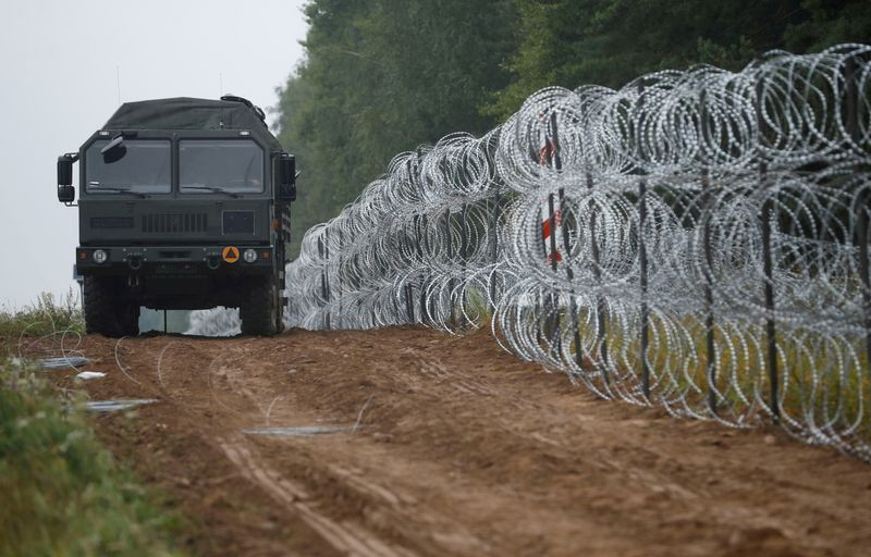 UN rights chief urges Belarus neighbours to protect asylum-seekers