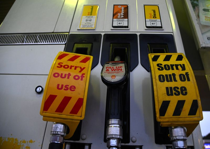 Shell's roadside fuel stations in Britain hit by higher demand