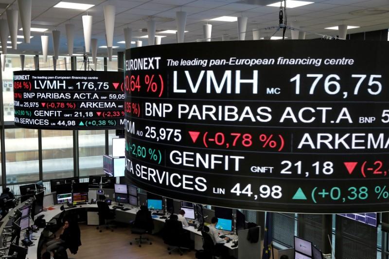Ações europeias caem com temores sobre Evergrande e dados fracos do sentimento empresarial alemão