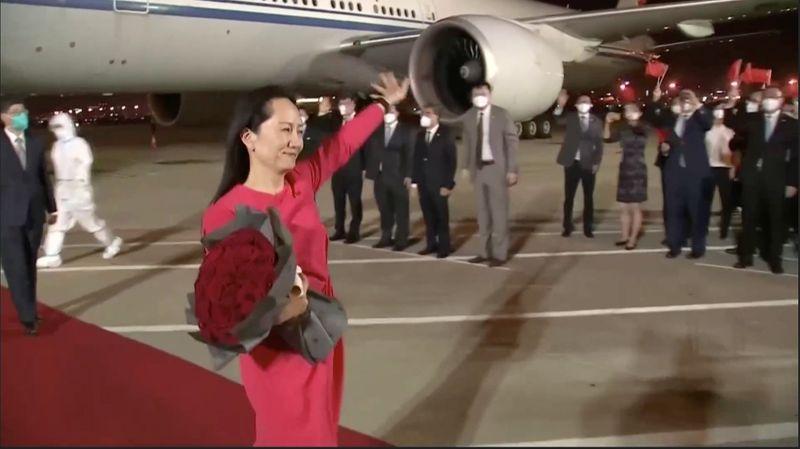 ファーウェイ副会長が帰国、中国当局が拘束のカナダ人2人も帰国