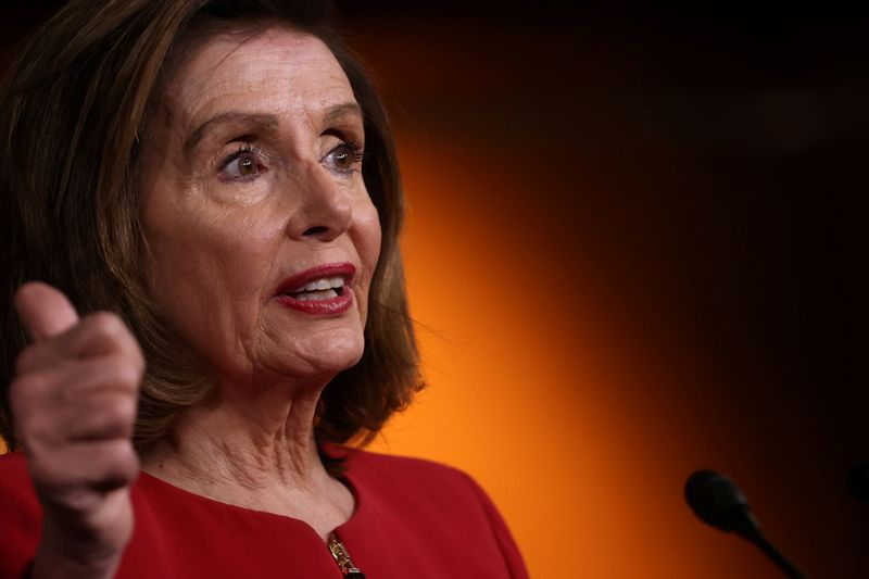 Pelosi sets Thursday vote on infrastructure, eyes smaller social spending bill