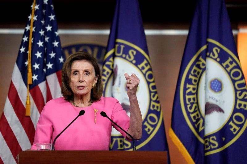 Etats-Unis: La loi sur les infrastructures votée cette semaine, dit Pelosi