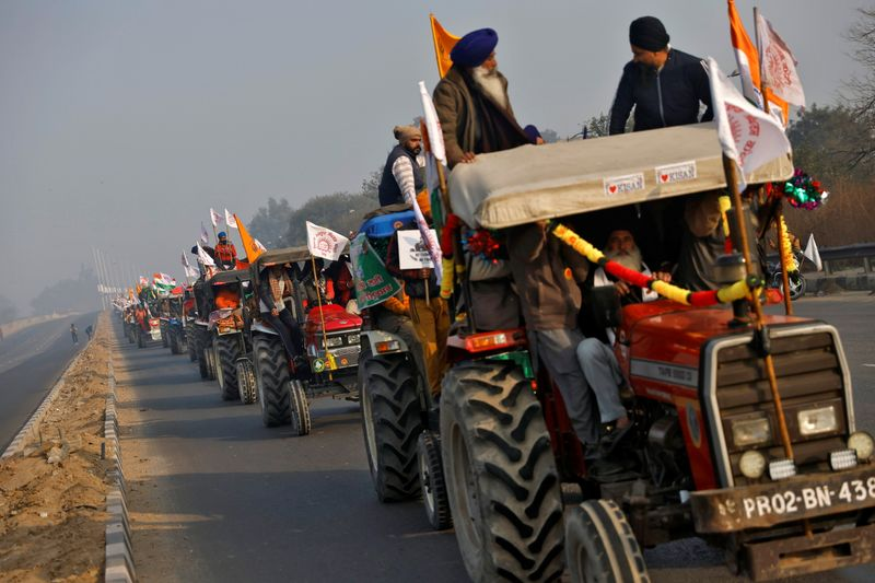 Indian farmers stage nationwide protests against reforms
